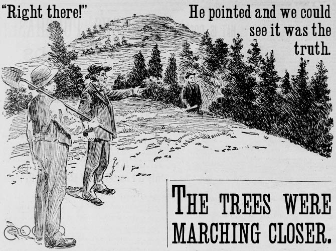 """Right there!"" 