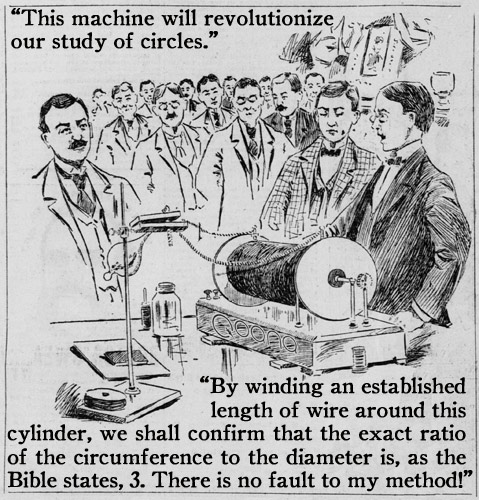 """""""This machine will revolutionize our study of circles."""" 
