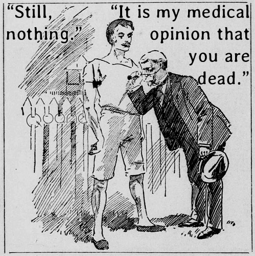 """Still nothing."" 